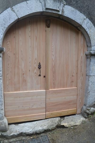 loquet de porte en bois