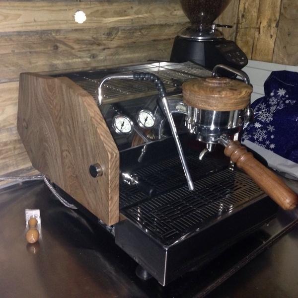 Customisation de machine à café