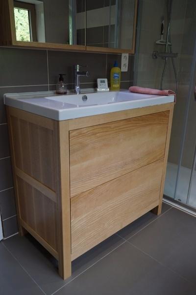 Meuble pour vasque