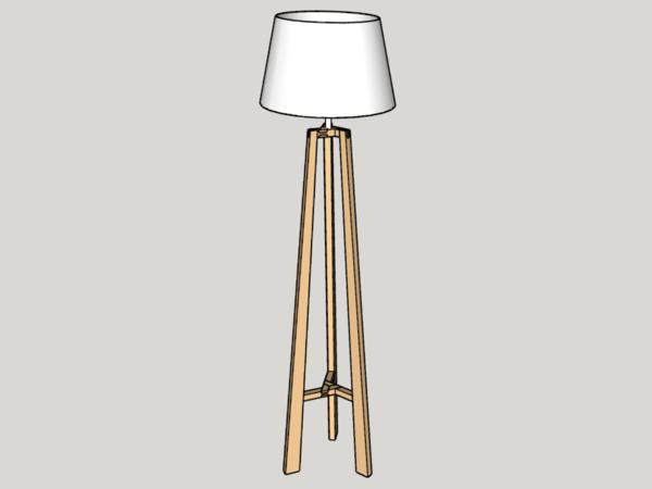 Lampe Trépied V2