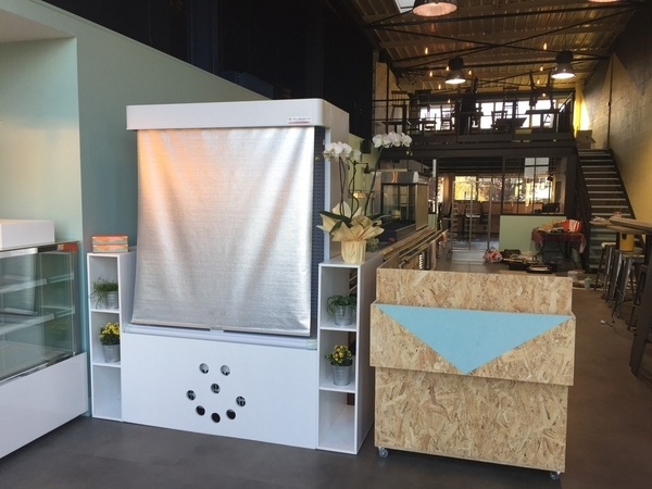 meubles restaurant par davidketler sur l 39 air du bois. Black Bedroom Furniture Sets. Home Design Ideas