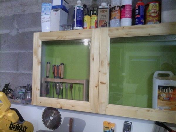 Petit meuble d 39 atelier par l atelier vosgien sur l 39 air du bois for Atelier du meuble rustique
