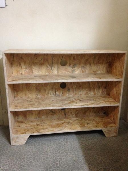 meuble pour console de jeux par davidketler sur l 39 air du bois. Black Bedroom Furniture Sets. Home Design Ideas