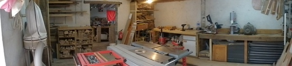 Mon nouvel atelier en vidéo
