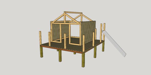 Cabane enfant