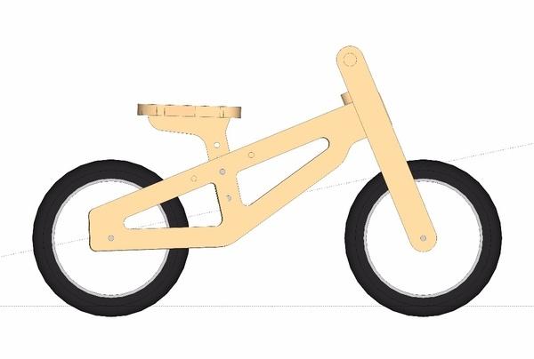Draisienne Bennett Balance Bike