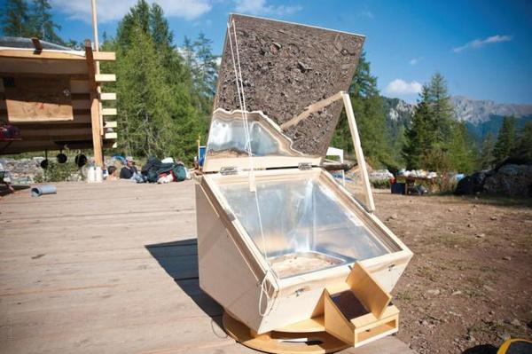 Four solaire Entropie