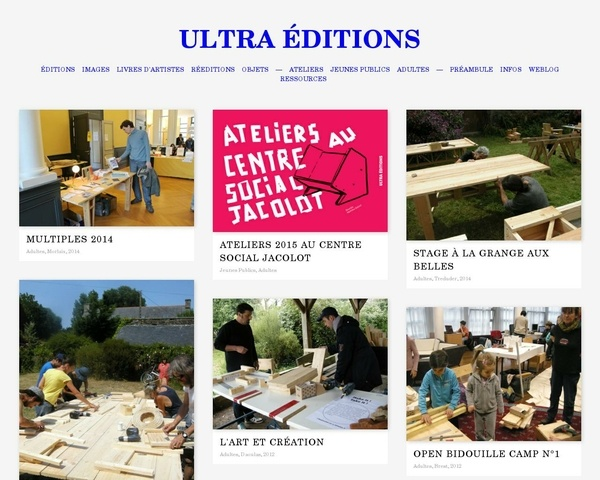 Ultra Editions - Maison d'édition associative