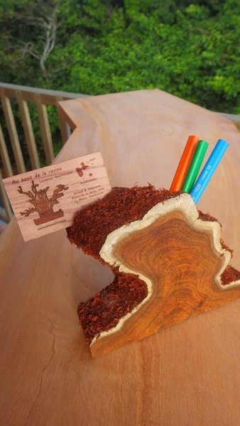Pot de crayons - porte carte - porte clef USB